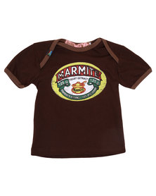 Krag Drag Marmite Tee Brown