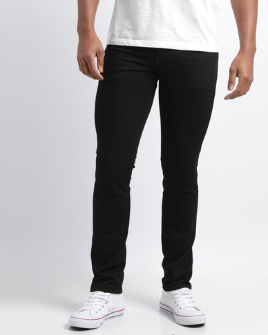 ec402379fa Levi's® 511™ Slim Fit Stretch Jeans Black | Zando