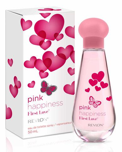 Revlon Pink Happiness First Love 50ml EDT Spray