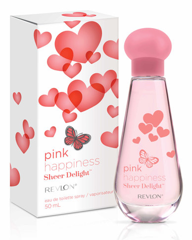 Revlon Pink Happiness Sheer Delight 50ml EDT Spray | Zando