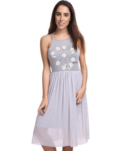 8122295adc60bd Rip Curl Ocean Spell Dress Grey