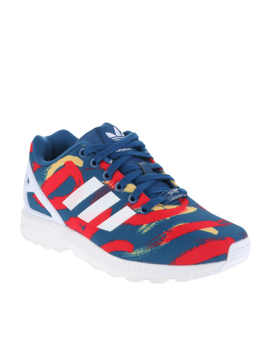 0a505d4b0289 adidas ZX Flux Paris Sneakers Multi-Coloured