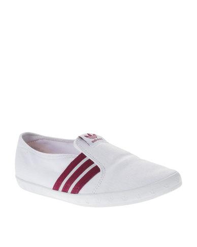 innovative design 5e61c 0288d adidas Adria PS Slip-On Sneakers White   Zando
