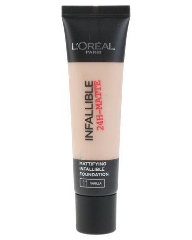 Infallible Matte Foundation Vanilla 11