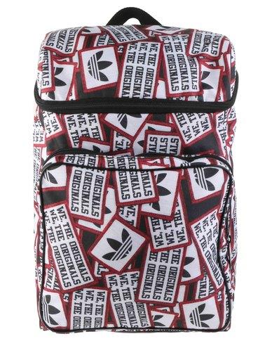 98f0b5860283 adidas Vintage Patch Classic Backpack Bag Black