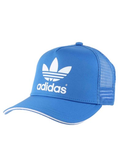 adidas Originals Classic Trucker Cap Blue  c21b91bee7f