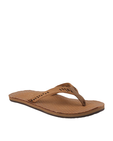 8b0899ce3 Jeep Heather Leather Slip On Sandal Brown