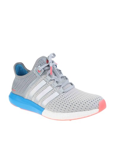 factory authentic 1d6f4 6717d adidas Performance Climachill Gazelle Boost Running Shoes Grey   Zando