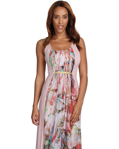 b8f21a2894 Sober Venus Rope Dress Nude