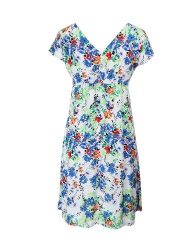 Me-A-Mama Monaco Dress Multi-Coloured