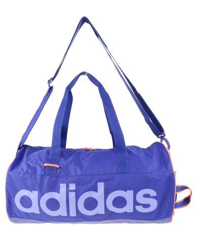 b88ebb5faee9 adidas Performance Linear Performance Team Bag Small Blue