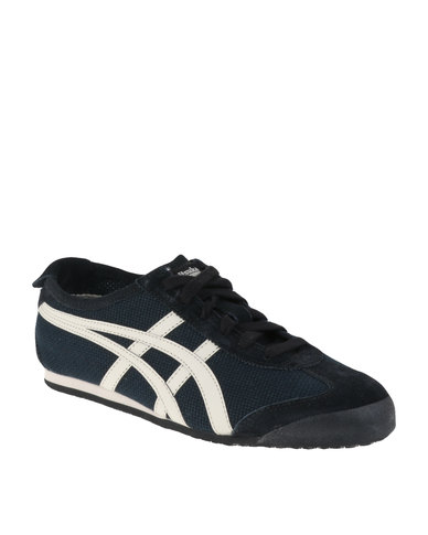outlet store sale c272b f568e Onitsuka Tiger Mexico 66 Court Sneakers Black/White