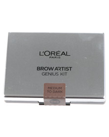 L'Oreal Brow Artiste Genius Kit Medium Dark 02