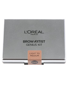 L'Oreal Brow Artiste Genius Kit Light Medium 01