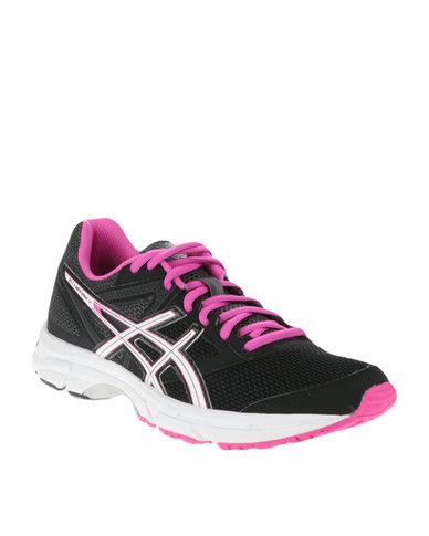 8a0b21a0fb28 Asics Gel-Emperor 3 Running Shoes Pink Black