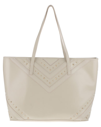 Marie Claire Tote Bag Beige