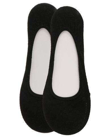 discountwinkel halve prijs verkoop usa online Falke 2 Pack Anti Slip Invisible Socks Black