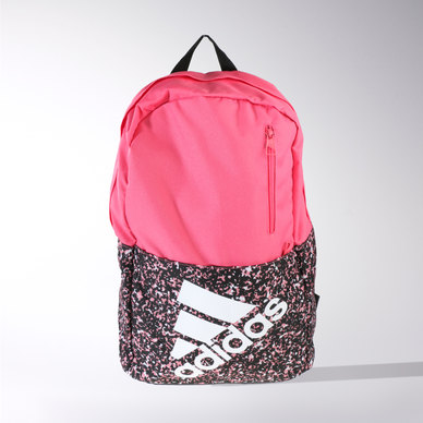 53ee225d03b35 adidas Performance Versatile Graphic Backpack Pink
