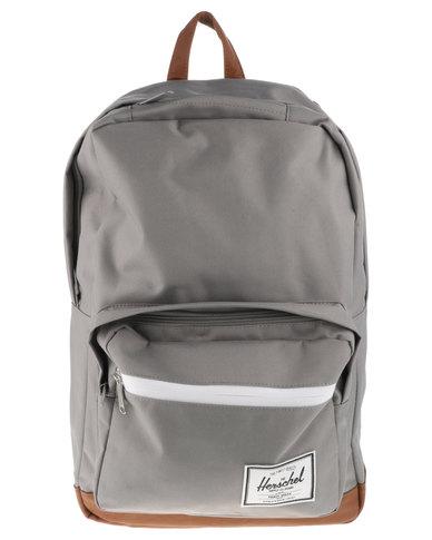Herschel Pop Quiz Backpack Bag Grey   Zando 6acbb3c0b6
