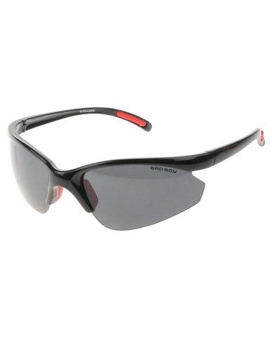 Bad Boy No Limits Wrap Around Sunglasses Black