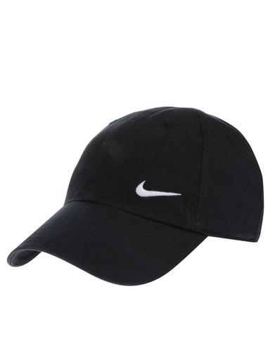 Nike Woman s Swoosh H86 Cap Black  2127c8447d4f