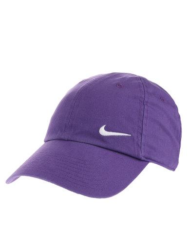 Nike Woman s Swoosh H86 Cap Purple  956b8011a3d