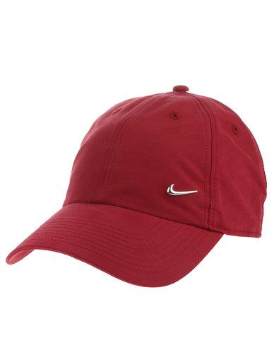 5f9c784167c Nike Metal Swoosh H86 Cap Red