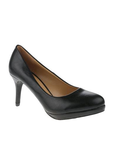 b400a8ff5c2 Utopia Almond Toe Court Shoes Black | Zando