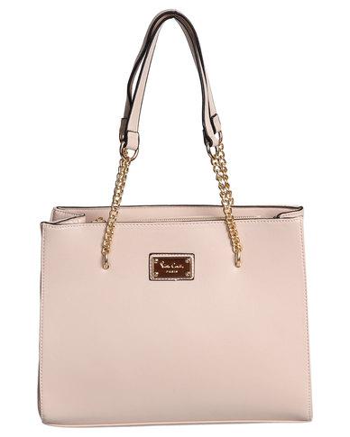 Pierre Cardin Alessandra Chain Handle Tote Bag