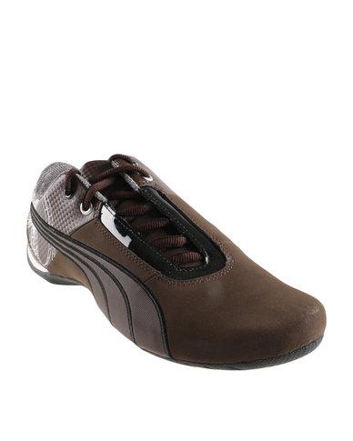 4fb0d163104 Puma Future Cat S1 Graphic Sneakers Brown