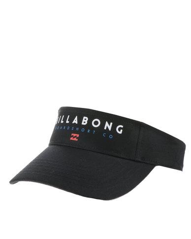 7f573a88 Complete the look. Billabong Visor Cap Black ...