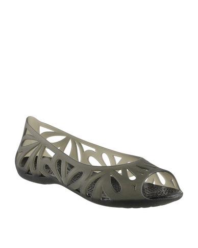 Flat Adrina Iii Toe Crocs Peep rCtsQdh