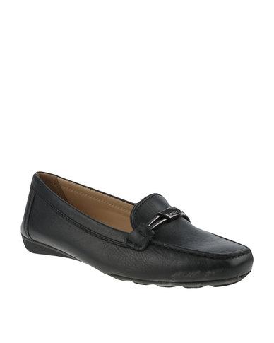 3798a3af7a6104 Geox Casual Slip On Black | Zando
