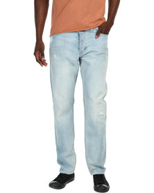 Neuw Jimmy Straight-Leg Jeans Stone