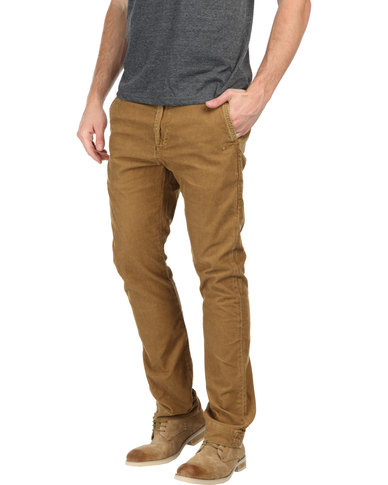 0438c17e70f Lee 101 Slim Chino Corduroy Pants Brown