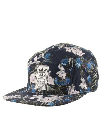 753e04558df ... denmark adidas dark floral five panel cap multi c8c07 36643