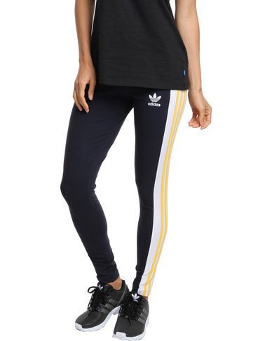 e00816db29c4a adidas Cosmic Confession Leggings Blue | Zando
