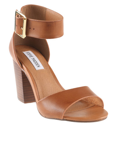 Steve Madden Belle Heeled Sandals Brown