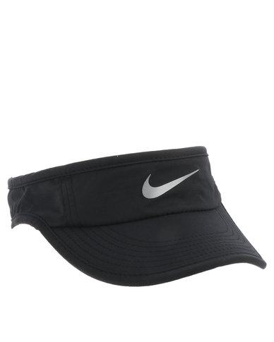 Nike Performance Run Visor AW84 Black  484100132da
