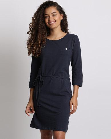 Utopia Tshirt Dress Navy