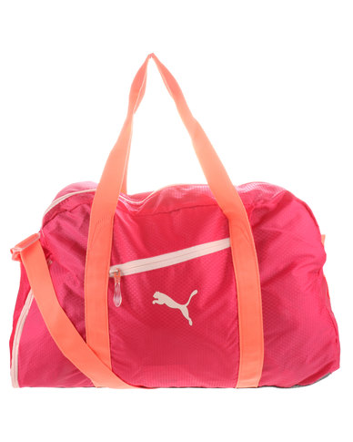 ff8275efe Puma Performance Fit AT Sports Duffle Togbag Red | Zando