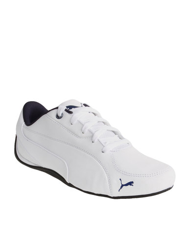 Puma Drift Cat 5 LEA Sneakers White  5a2011f06ed37