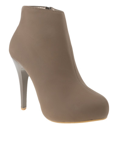 de005231e93 Utopia High Heel Pixie Boot Stone