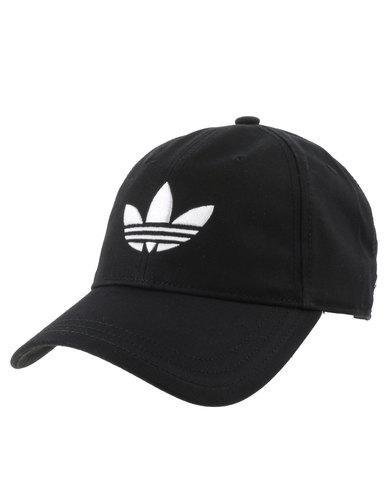 adidas Trefoil Cap Black  4e721072828