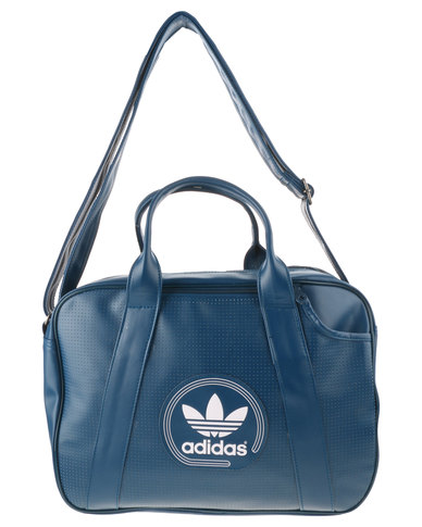 adidas Perforated Airliner Bag Blue  d0ba7e83daa54