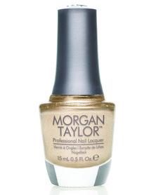 Morgan Taylor MT Professional Nail Lacquer Give Me Gold