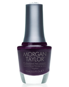 Morgan Taylor MT Professional Nail Lacquer Seal The Deal Plum