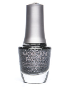 Morgan Taylor MT Professional Nail Lacquer Studs and Stilettos Metallic Black