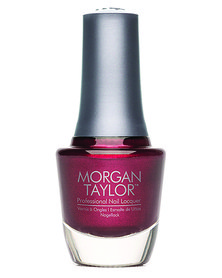 Morgan Taylor MT Professional Nail Lacquer Vixen in a Mask Plum