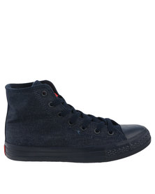 Cutty Bradshaw M.D. Hi Top Sneakers Blue